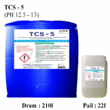 TCS_5 Tank cleaner for animality_vegetability acid fatty exc