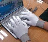 Nylon PU Fingertips Coated Gloves