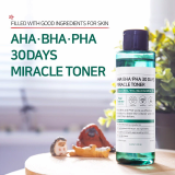 Korean cosmetics_Somebymi AHA_BHA_PHA 30days Miracle Toner
