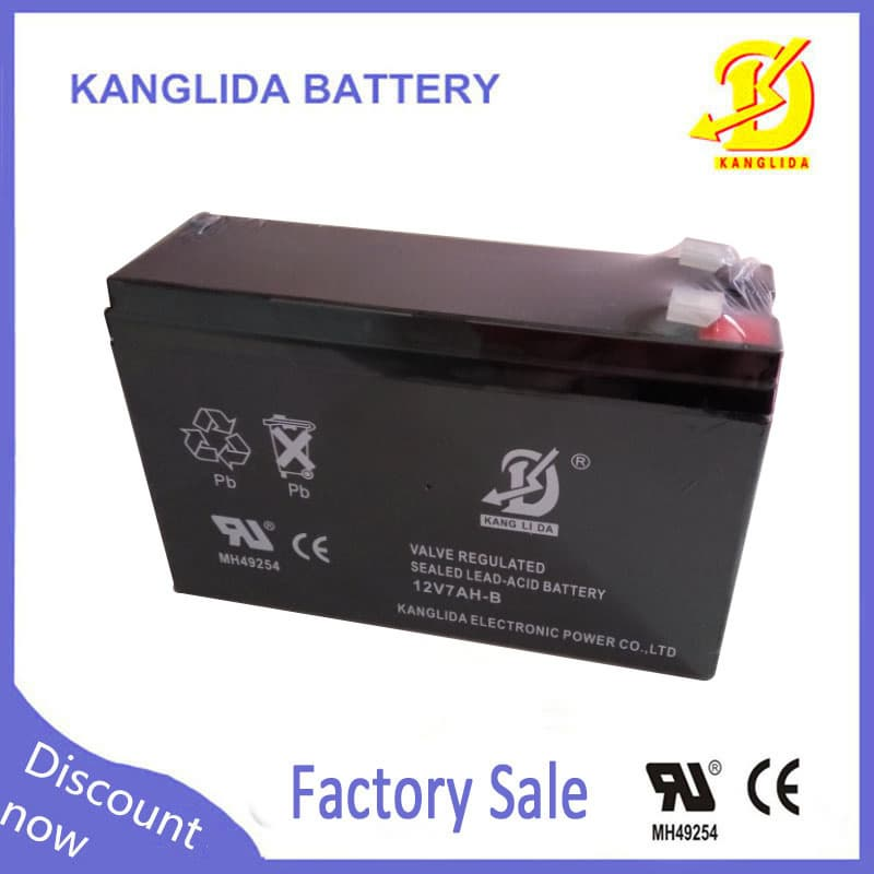 12v lead acid ups battery 7ah rechargeable