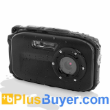 AbleCam - 5 MP Waterproof Digital Camera (4032x3024, IPX8, Face Detection)
