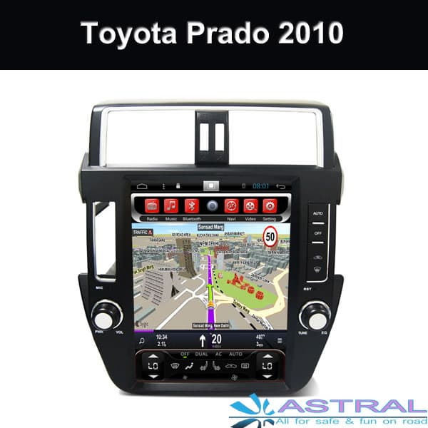 Toyota Integrated Navigation System 12_1 inch Screen Company