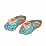 iMOOV Vibro Orthotics Real Foot Massage Shoe Inserts Insoles