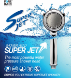 PURE RAIN SUPER JET _ KNTEC SHOWER HEAD