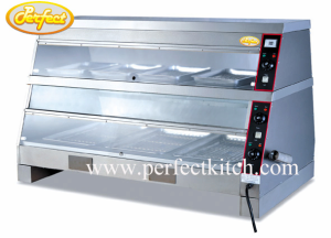 Food warmer display fast food equipment from guangzhou for Perfect kitchen equipment