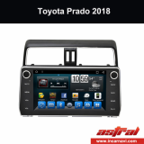 Android Toyota Car Stereo with Screen Prado 2018 Wholesale