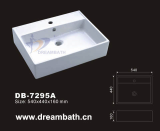 Bath ceramic sink