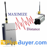 Wireless Signal Booster + Receiver (1.2 GHz, 300 Meter Monster Edition)