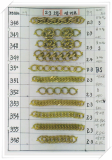Brass Chain for imitation jewelry -KS346--