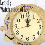 Leejel wood clock_104F