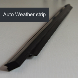 Car window weather stripping
