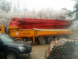 Junjin JJ H5 Used Concrete Pump Car