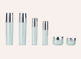 Round Skin Care Bottle and Jars