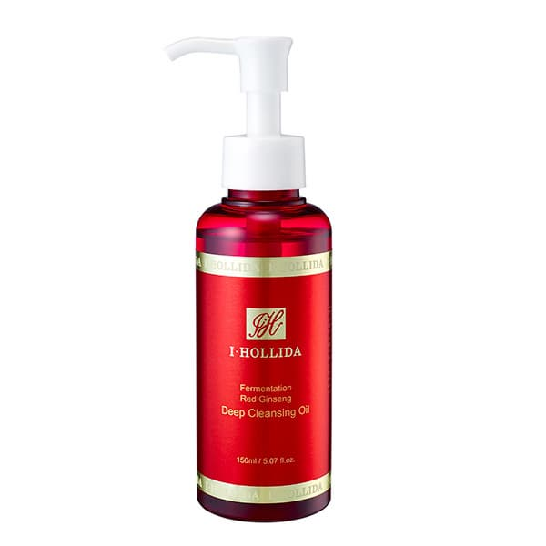 I HOLLIDA FERMENTATION RED GINSENG DEEP CLEANSING OIL