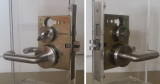 ANSI Commercial Mortise Lock_Privacy Lock_Coin Turn Outside_