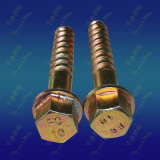 0281 hexagon flange screw spike 22x150