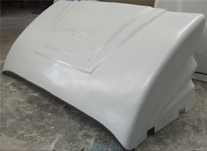 Paint Thickness Fiberglass Material Truck Roof Air