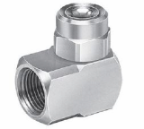 GA-W wide angle spray nozzle with BSPT thread