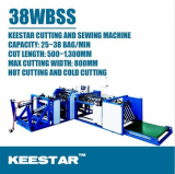 Keestar 38WBSS PP woven bag cutting and sewing machine
