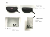 Sport Sunglasses_Goggle_ Pouch _ Hard Case _ Cleaner
