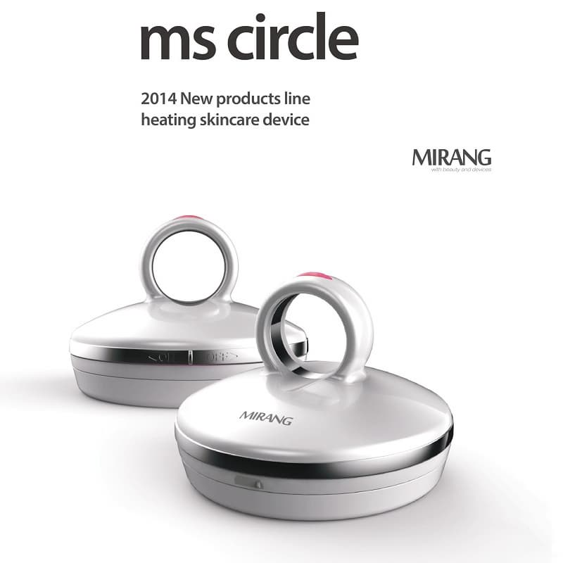 Ms Circle_ Heating Galvanic Skincare Massager
