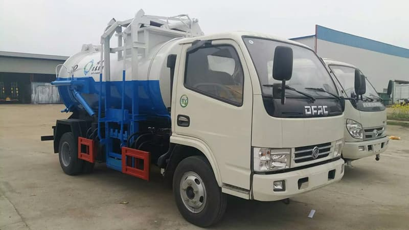4X2 5CBM Sewer Suction Truck sell Philippines | tradekorea