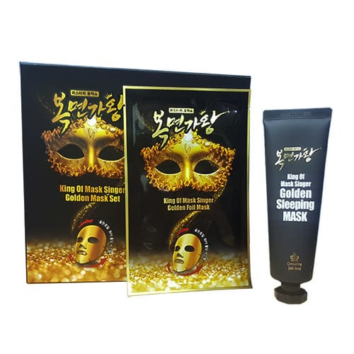 King of golden mask