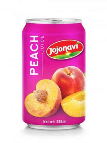 Peach Juice Aluminium Can