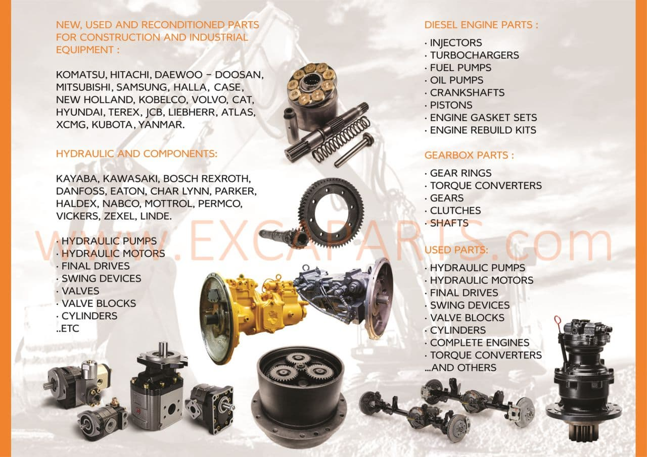 Komatsu heavy equipment aftermarket_ OEM and original parts