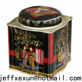 tea box tea can tea case tea caddy