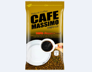 Instant Coffee Mix Cafe Massimo Freeze Dried Coffee