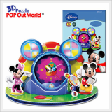 3D Puzzle Disney Mickey Clubhouse Clock