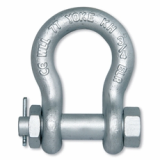 Forged Alloy Anchor Shackle with Bolt Pin -IJIN MARINE LIMITED