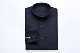 BLACK CHINA SHIRTS-S15F07BL-