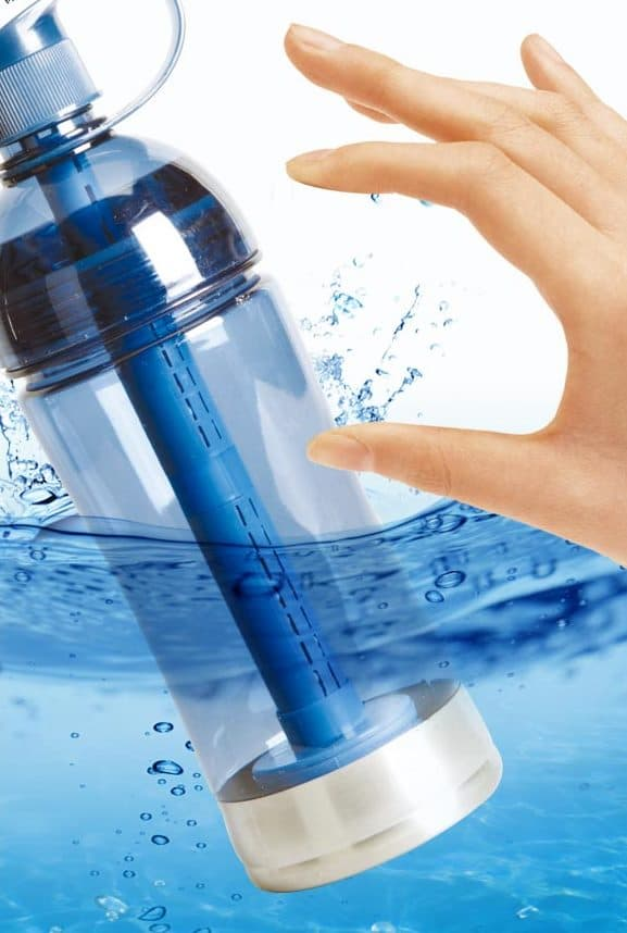 Hydrogen water generating bottle