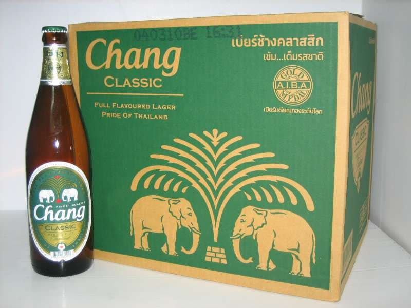 Chang Thai Lager Beer from Thailand