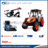 All kinds of spare parts for Korean Agricultural Machineries
