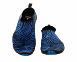 Aqua,Yoga,Fitenss,waterpark-Ballop Zebra Blue