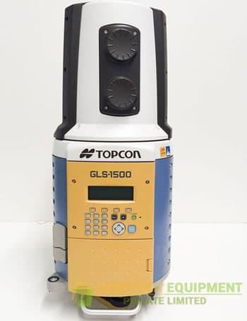 demo topcon gls 1500 3d laser scanner full kit with scanmaster office. Black Bedroom Furniture Sets. Home Design Ideas
