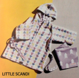 Little Scandi Bath Robe (Baby)