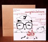 Handmade Letterpress Card, Congratulation Card including Envelopes_1.jpg