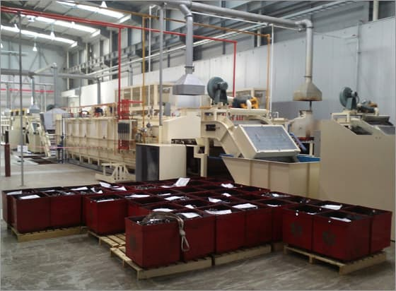 MESH Belt Type Continuous Carbrizing Furnace