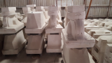 Plaster of Paris Pottery Beta Gypsum for Sanitary Ware