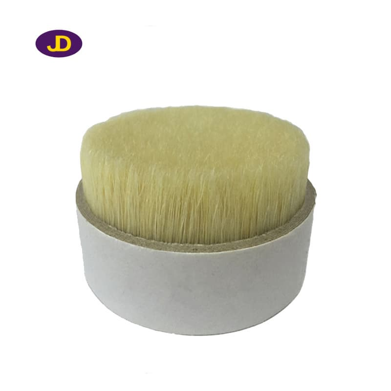 Pure water boiled pig hair_ bristles make brush_