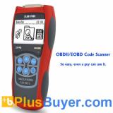Professional OBD-II and EOBD Code Reader + Scanner - Displays DTC Definitions