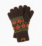 -iGloves- Smartphone Touch Gloves_snowflake-m