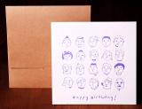 Handmade Letterpress Card, Birthday Card, Congratulation Card including Envelopes_1.jpg