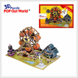 3D Puzzle Halloween Ferris Wheel