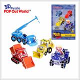 3D Puzzle Bob the Builder Bob & Friend
