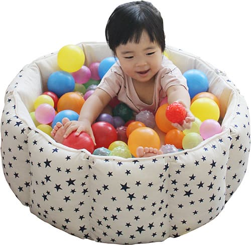 A Fabric Ball Pool Star Shaped Baby Toy Kids Toy Cushion